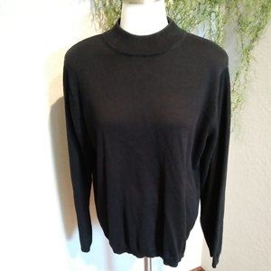 !!!SALE $15!!! Black Turtleneck by Chip-n-shore